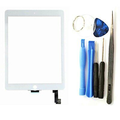 Replacement Touch Screen Digitizer Home Button Tools for iPad Air 2 A1566 A1567