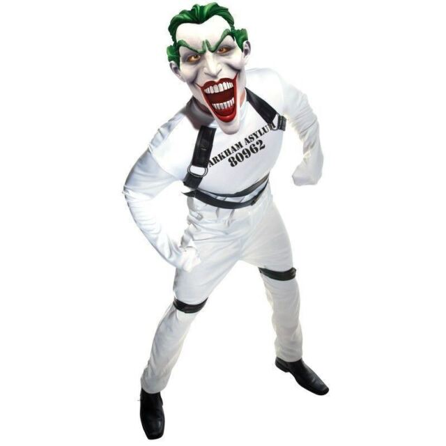 Batman The Joker Straight Jacket Costume Adult One Size Fits Most Up