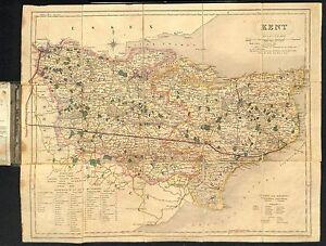 Antique-maps-Kent