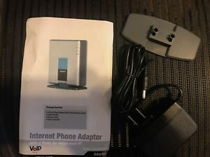 Several Available Linksys Cisco PAP2T Phone Adapter 2 Ports Voice Over IP