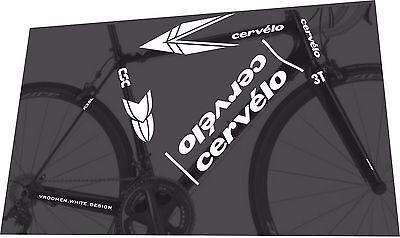 CERVELO R3 SL 2008 Frame Sticker Decal Set