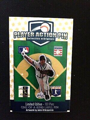 Atlanta Braves Greg Maddux Trikot Revers Pin-classic Collectible-diamond BüGeln Nicht Sport Weitere Ballsportarten