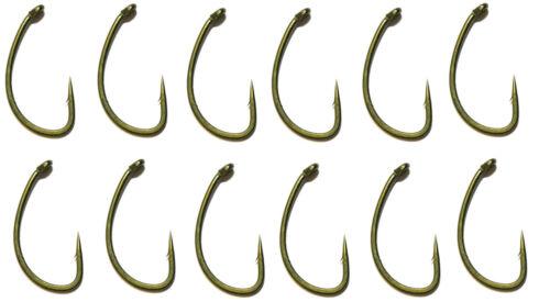 Avid Carp Reaction Hooks Barbed CRV 12Stk Haken Hook Karpfenhaken