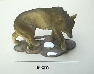 Superbe Loup,statuette ,décoraton,collection,wolf G-t3 Hzmeikmb-08002932-181953145
