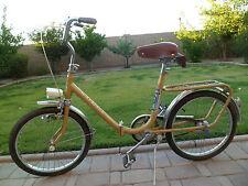 Vintage German Folding Travel commuting Bicycle Luxus Kolbe Ships Free