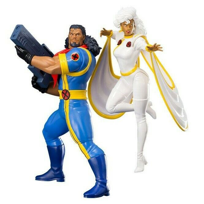 BISHOP & STORM PACK 2 STATUES ARTFX+ 1 10 MARVEL X-MEN'92 KOTOBUKIYA 20 CM
