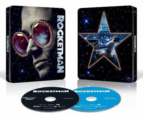 Rocketman 4k Ultra HD Limited Edition Best Buy Steelbook Elton John for sale online