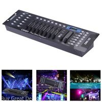 Stage Light Controller 192 Channels Dmx512 Controller Console Light Party Dj