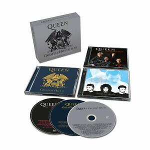 Queen-Greatest-Hits-I-II-amp-III-Platinum-Collection-3CD-Cadeau