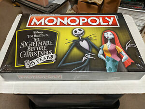 Nightmare-Before-Christmas-25th-Anniversary-Edition-Monopoly-NEW-SEALED