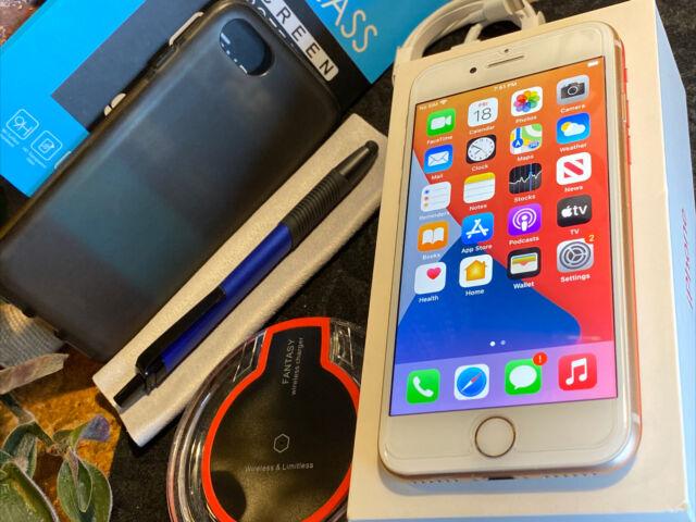 Apple iPhone 8 (64gb) Verizon World-Unlocked (A1863) Gold: MiNT {iOS14}84% iSSue