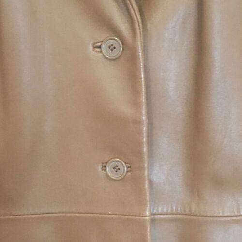 taglia Vgc New vera marrone pelle Jones marrone medio giacca 100 York uomo zwqO6TPp7