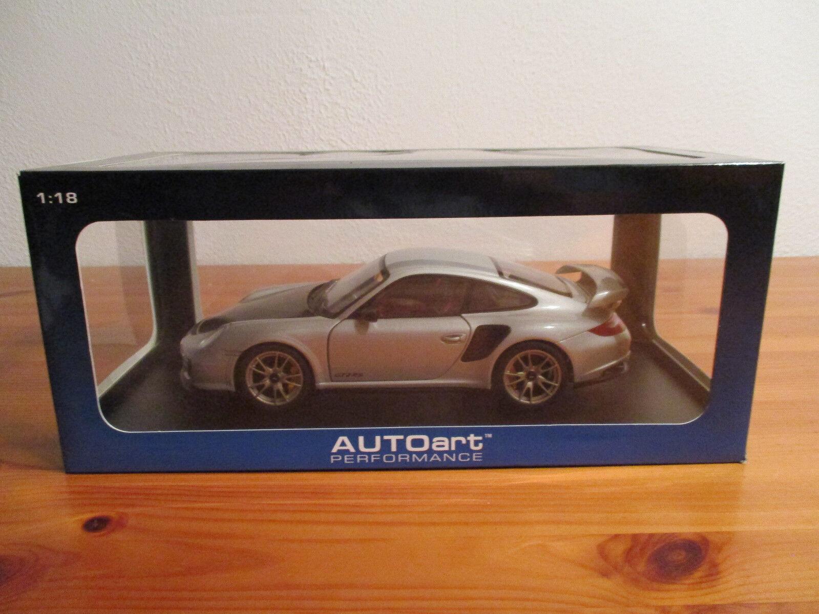 (go) 1 18 Autoart Porsche 911 (997) gt2 RS nuevo embalaje original