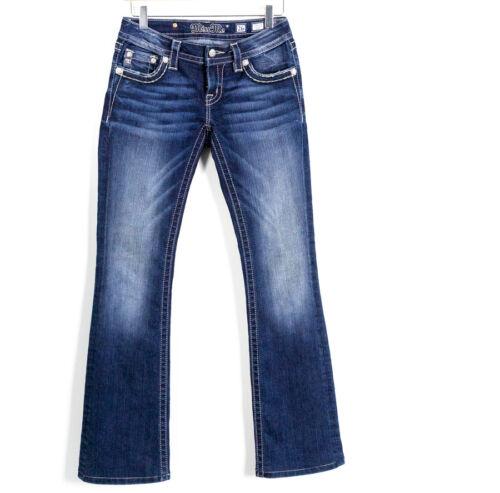 Miss Wash Denim Me Dark Taglia Embellished Signature donna 26 da Cross Jeans Boot rxrCwq