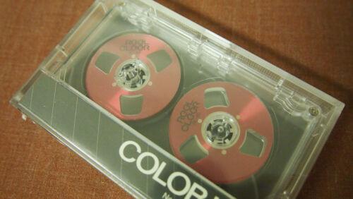 New Blank Cassette Audio Tape Reel To Reel 1984 Vintage Reel Cleer BoomBox