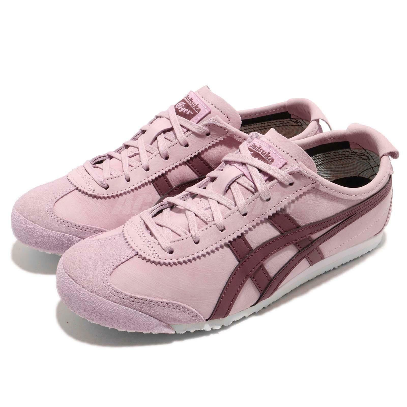 Asics Onitsuka Tiger Mexico 66 Pink  Purple Men Running shoes Sneaker 1183A19-8700  popular