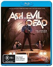 Ash vs Evil Dead Complete Series 1 Blu Ray All Episode First Season UK Release