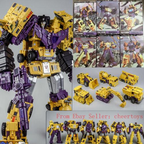 ToyWorld TW-C07 Model Devastator Yellow Versions 6pcs Figure In stock