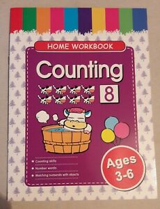 Children-039-s-Home-Educational-Workbook-Age-3-6-Counting