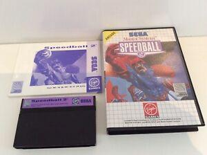 Sega Master System Speedball 2