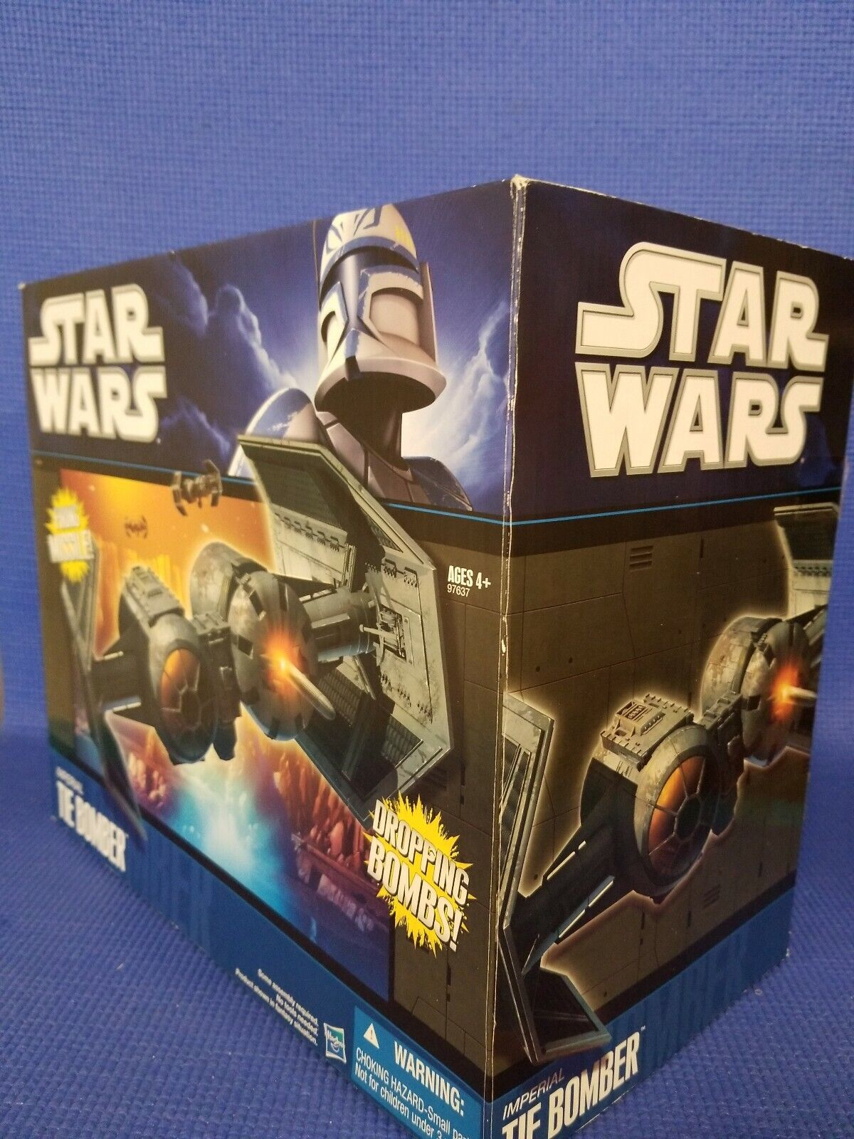 Hasbro Star Wars Imperial TIE Bomber Wal-Mart Exclusive New