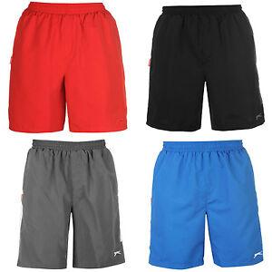 Slazenger-Swim-Shorts-Size-S-M-L-XL-2XL-3XL-4XL-NEW-Mens-Woven-Swimming-Navy