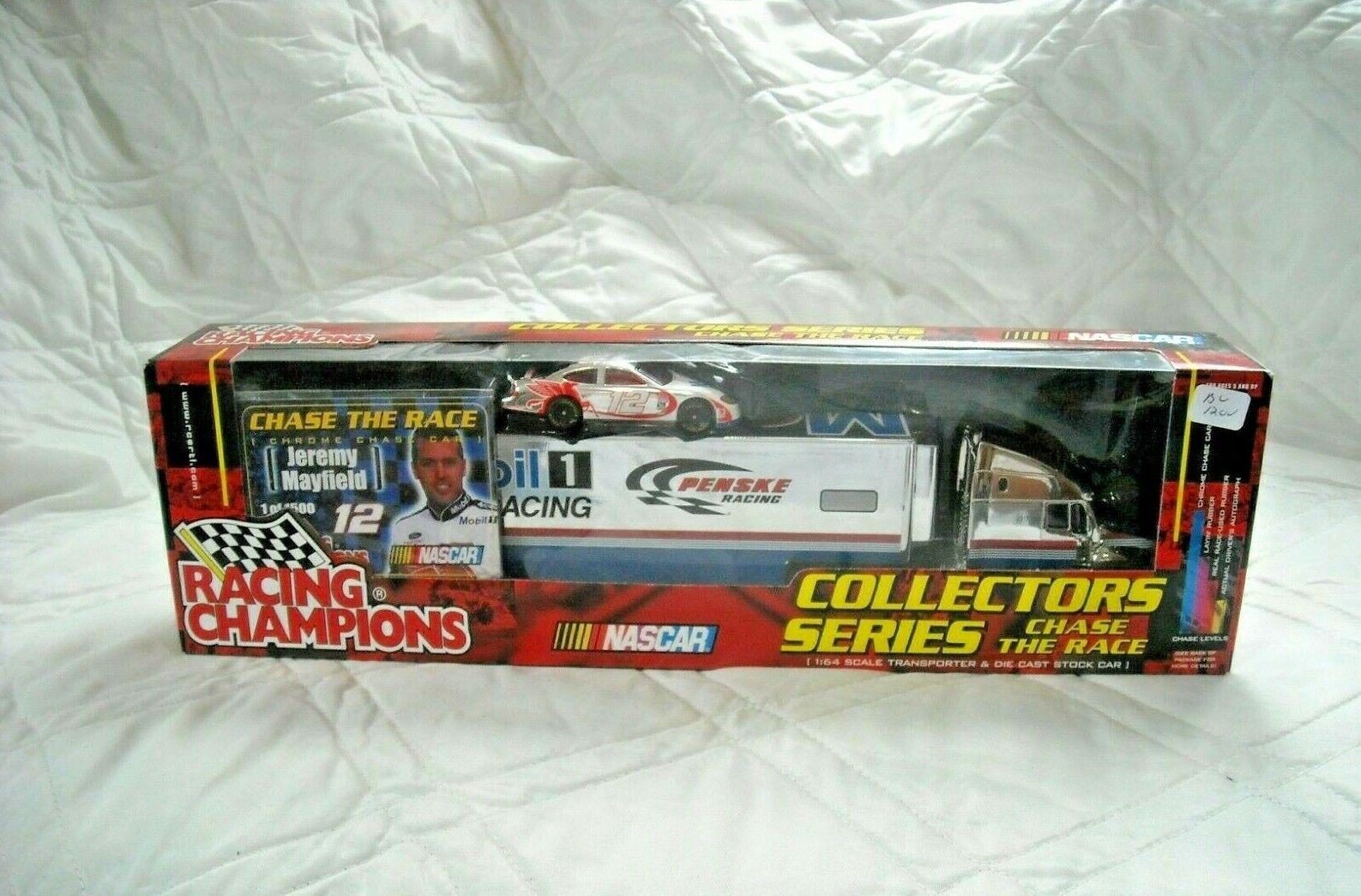 Racing Champions Jeremy Mayfield Diecast Penske Hauler Camion 1 64 2001 NASCAR