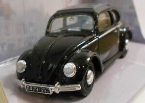 Dinky 1/43 escala Diecast Modelo DY-6B Negro 1951 Volkswagen