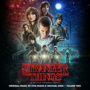 Stranger-Things-Volume-2-2-x-Coloured-Vinyl-LP-039-s-NEW-amp-SEALED