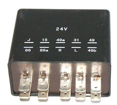 Axor 24V// 18Pins flasher light pf.Mercedes Actros Warnblinkgeber