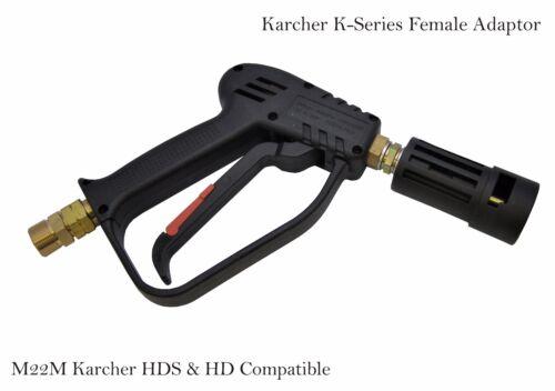 Lavadora A Presión Lavado Pistola Gatillo m22m entrada Karcher Serie K Compatible Outlet.