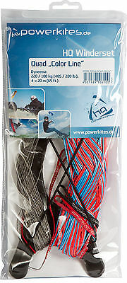 HQ  DYNEEMA 4 LINE REPLACEMENT FLYING KITE LINES FOR QUAD POWER KITES