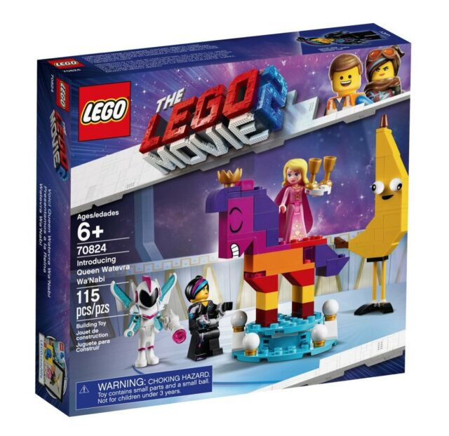 NIB! LEGO 70824 The Lego Movie 2 - Introducing Queen Watevra Wa'Nabi RETIRED