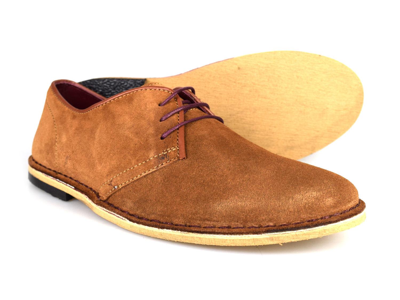 Delicious Junction Otis foncé Gingembre hommes cuir suédé suédé suédé Chaussures Habillées | De Nouveaux Produits 2019  ba9326