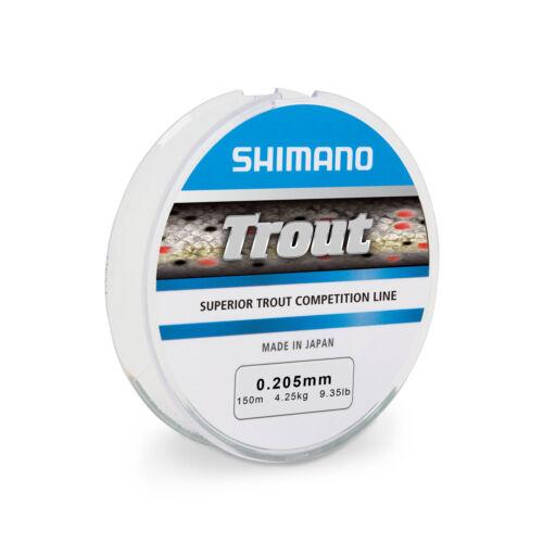 Trout Competition 150m 0,16mm 2,85kg 0,05EUR//m Shimano Monofile Angelschnur