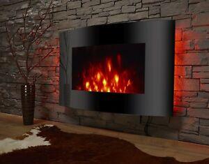 das bild wird geladen elektrokamin el fuego led 2 heizstufen 220v fernbedienung - Wohnzimmer Feuer