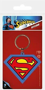 Offiziell Dc Comics - Superman - Schlüsselring Keychain Logo Partybeutel
