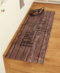 Details About 55 Comfortable Cushioned Kitchen Runner Rug Mat Country Rustic Farm Heart Chef