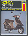 Honda NE/NB50 Vision and SA50 Vision Met-in Owner's Workshop Manual by Penelope A. Cox, Pete Shoemark (Paperback, 1998)