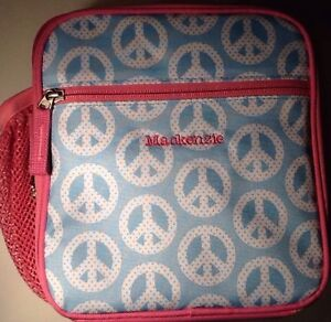 New Pottery Barn Kids Peace Sign Lunch Box Nwot Mackenzie