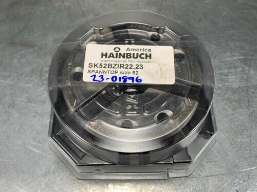 ".875/"" Round Serrated Spanntop 52 Hainbuch SK 52BZI Clamping Head 22.23mm"