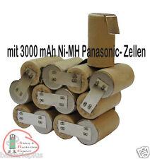 Akkupack für  Hilti SFB150 SFB155 15,6V 3000mAh Ni-MH Panasonic zum Selbsteinbau