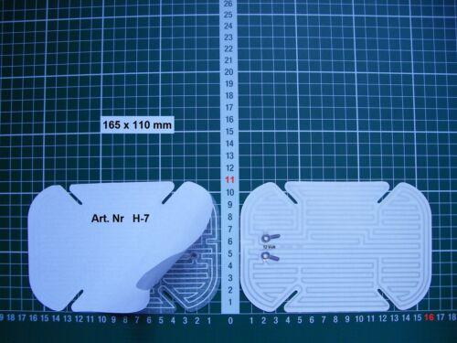 Rétroviseur Extérieur Miroir De Verre Ersatzglas Homard type h3 à partir de 2005 États-Unis Li OD RE ASPH