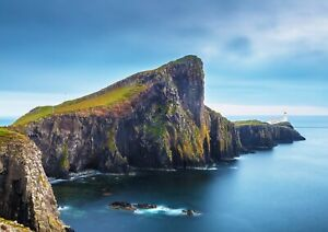 A1-Neist-Point-Isle-Of-Skye-Poster-Art-Print-60-x-90cm-180gsm-Cool-Gift-16384