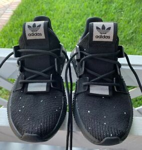 on feet shots of recognized brands detailed pictures Details about Adidas Prophere Shoes Mens Core Black Sneakers Size 5 US |  B22681 | Authentic
