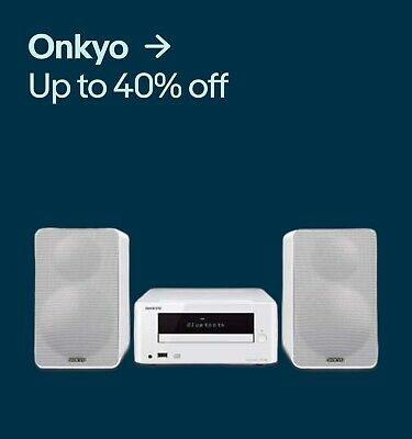 Onkyo Up to 40% off