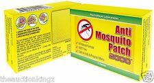 Mosquito Repellent Patch Deet Free Natural Lemon Eucalyptus Zika Virus Defense