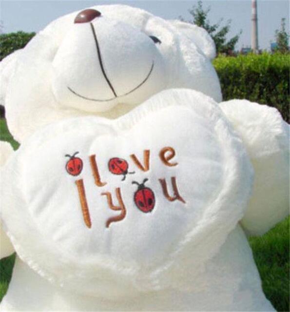 50cm Giant large huge big teddy bear soft plush toy I Love You Valentine gift