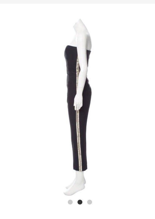 Alexander Mcqueen schwarz  jumpsuit  pants. Größe 40  . NWT retail  3,839