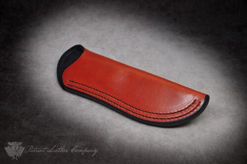 Bark River Bravo Series /'The Intolerable/' Custom Leather Bushcraft Sheath